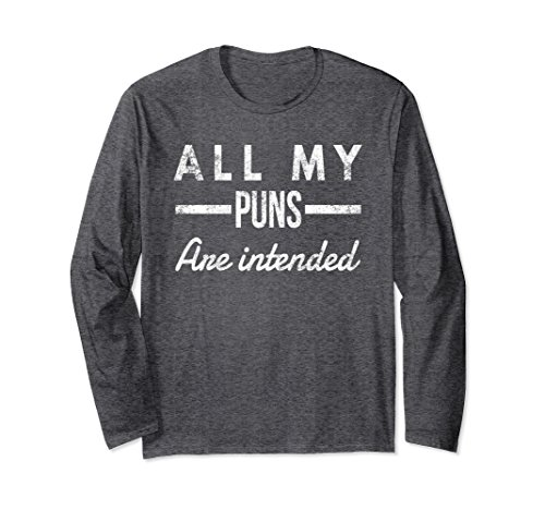 Unisex Long Sleeve T-Shirt For a Teacher, Pun | Gift For Men, Women 2XL Dark Heather