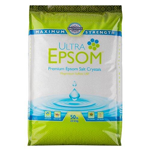 Ultra Epsom Premium Epsom Salt, Fine - 50 lb Bag