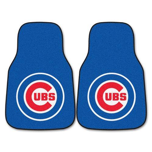 FANMATS MLB Chicago Cubs Nylon Face Carpet Car -
