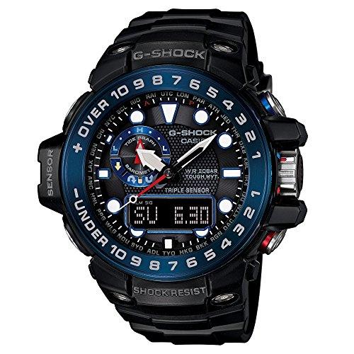 Casio G-Shock GWN-1000B Master o G Series Stylish Watch – Black One Size