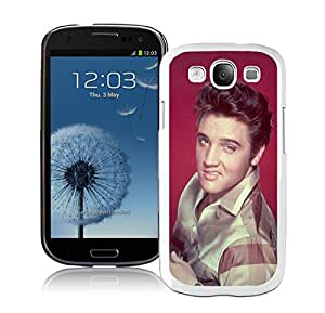 Samsung Galaxy S3 I9300 Case ,Unique And Fashionable Designed Case With Elvis Presley 1 White For Samsung Galaxy S3 I9300 Phone Case