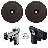 Magnetic Gun Mount and Holster- Iron Rhino Rare Earth Neodymium Magnets- 2 Pack- Countersunk mounting hole - Multipurpose Round Cup Base Magnets