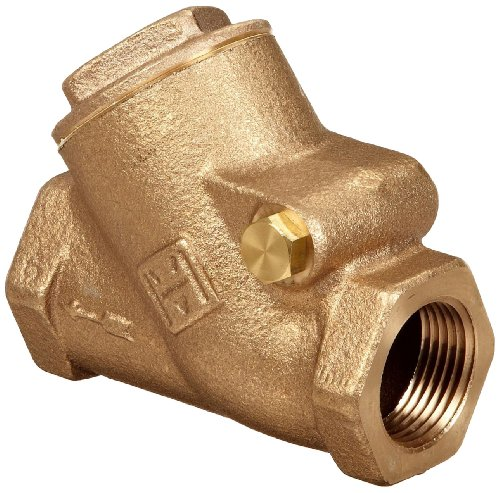 (Milwaukee Valve 515Y Series Bronze Swing Check Valve, Class 150, 3/4