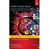 Adobe Creative Cloud Student and Teacher Edition Prepaid Membership 12 Month - Validation Required