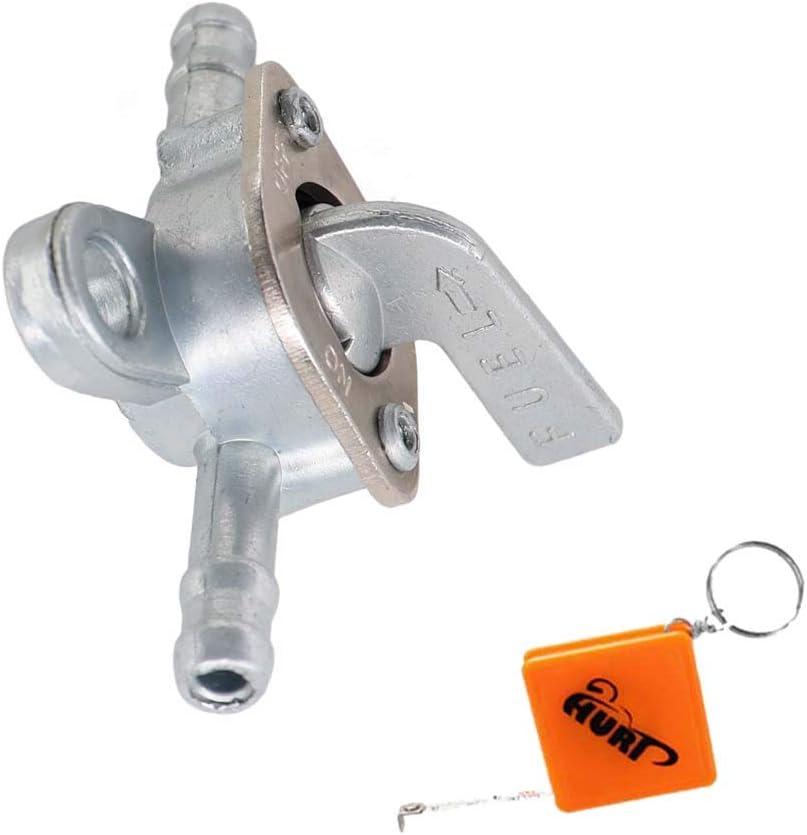 quad con filtro benzina per moto per 50 cc motorini 150 cc Rubinetto universale per benzina 70 cc Dirt Bike ATV 110 cc 6 mm 125 cc 90 cc HURI