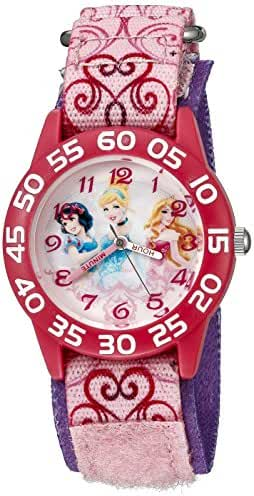 Disney Infinity Kids' W002475 Princess Watch with Pink Band