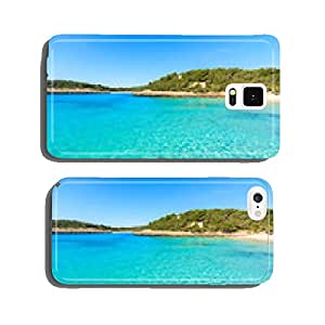 Beautiful turquoise sea at Cala Mondrago beach, Majorca island cell phone cover case Samsung S5