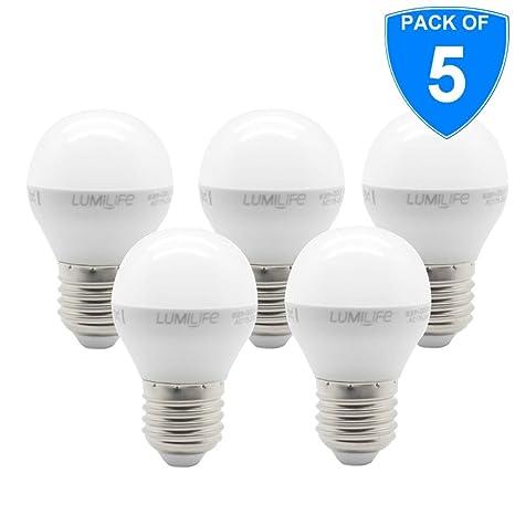 5 x Premium calidad 5 W led Golf bombillas Edison Screw Cap E27 GLS luz Globo