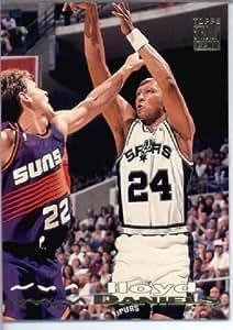 1993 94 Topps Stadium Club Basketball Card #140 Lloyd Daniels San Antonio Spurs Sports Card