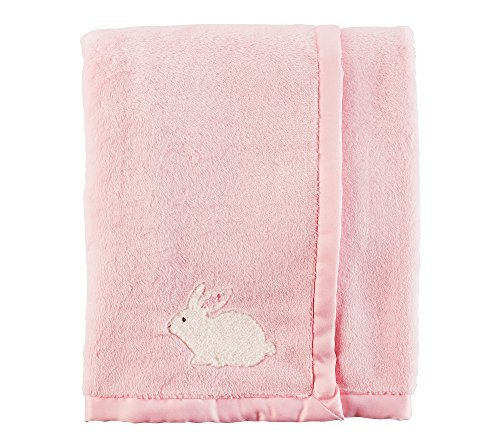 Carter's Baby Girls' Bunny Blanket,Pink,One Size ()