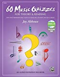 60 Music Quizzes for Theory and Reading: One-page Reproducible Tests to Evaluate Student Musical Skills, Comb Bound Book & Data CD (Enhanced CD)