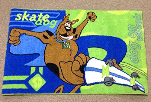 Scooby Doo Skate Dog Nylon Rug 22