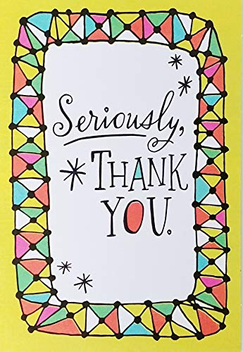 Seriously, Thank You - Happy Administrative Professionals Day Greeting Card - Its Really Great To Work With Someone Like You