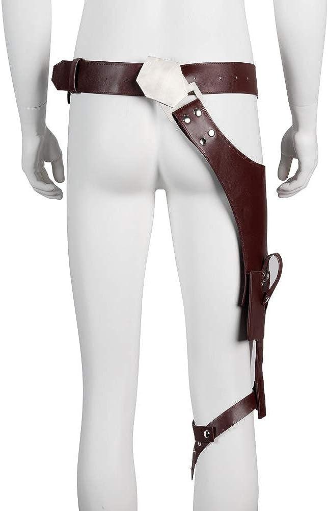 Amazon.com: Han Solo - Cinturón con hebilla para disfraz ...