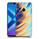 Official Andi Greyscale Two Sides of One Extreme Abstract Marbling Hard Back Case Compatible for Huawei Honor 8X / View 10 Lite