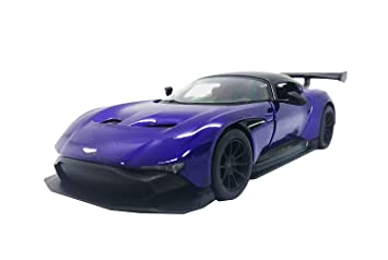 Buy I Gadgets Kinsmart Aston Martin Vulcan Hard Top Purple Online At Low Prices In India Amazon In