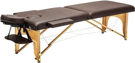 Mesa de masajes Portable 2 Sección de Madera Mesa de masajes ...