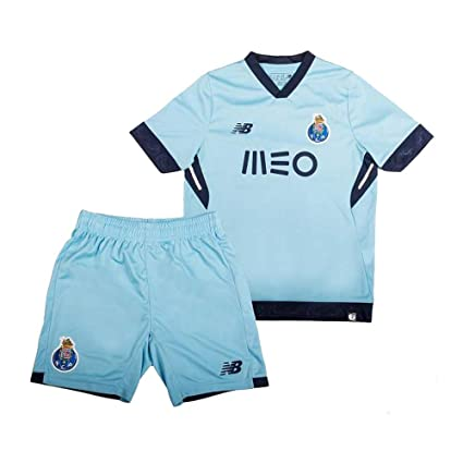 buy online e54d9 ba58a Amazon.com : New Balance 2017-2018 FC Porto Third Kit (Kids ...