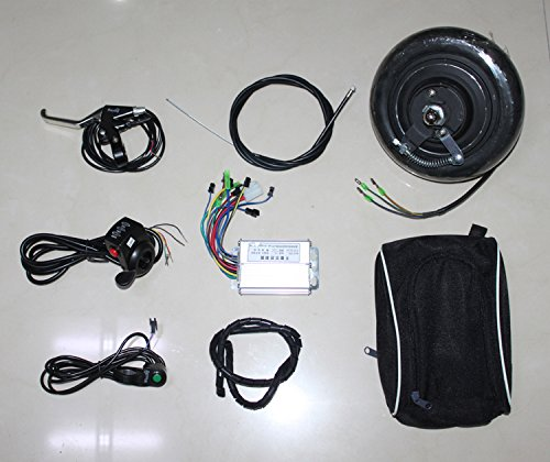 8 Inch Electric Scooter Brushless Hub Motor 36V 350W Motor Kit For Tride Trikke Bike Homemade Mobility Scooter Instead Of Walk (Scooter Brushless Motor)