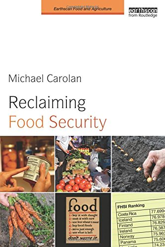 Reclaiming Food Security  Earthscan Food And Agriculture