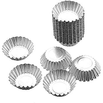 Amazon Com Disposable Aluminum Foil Cups Baking Bake