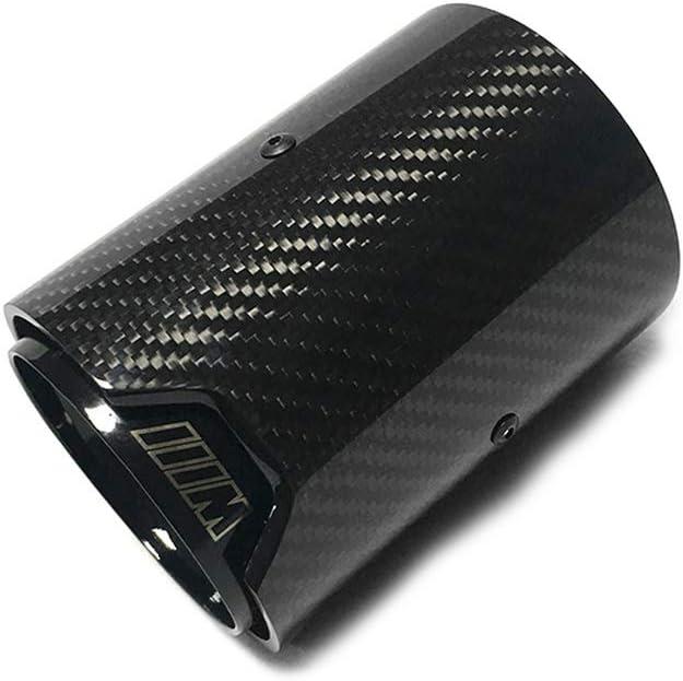 JTAccord 1 PC Top qualit/é 3K Embouts de Silencieux d/échappement en Fibre de Carbone pour BMW M2 F87 M3 F80 M4 F82 F83 M5 F10 M6 F12 F13 X5M X6M