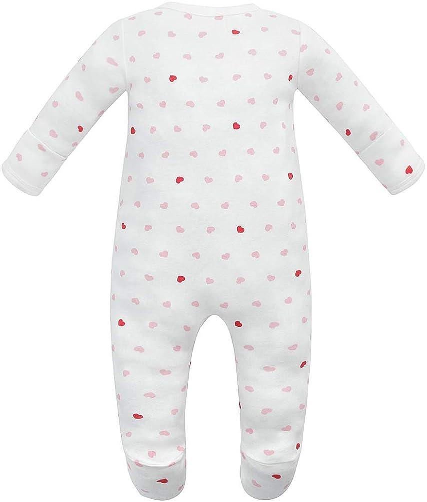 Owlivia Organic Cotton Baby Boy Girl Sleep /'N Play//Coverall Size 0-18M Long Sleeve