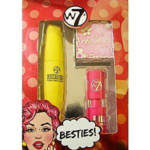 W7 Cosmetics - Besties Box Set Companion - Bronzer, Mascara & Lippy MakeUP