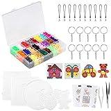 LIHAO Mini DIY Fuse Beads Decoration Toys Set 24 Colours