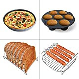 8 inch XXL Air Fryer Accessories Set of 8 for