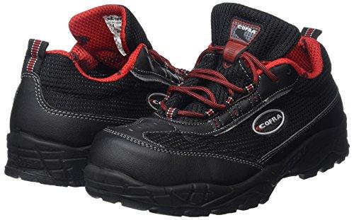 Cofra 22192-000.W44 Gully S1 P SRC Chaussure de sécurité Taille 44 Noir