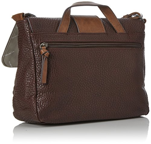 Marrón Maletín Bag Brown Tamaris Mujer Bolsos Comb dark Satchel Lee wZAa4YRa