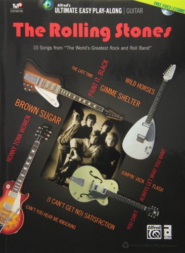 Rolling Stones Ultimate Easy Guitar Play-Along (Beatles Guitar Dvd)