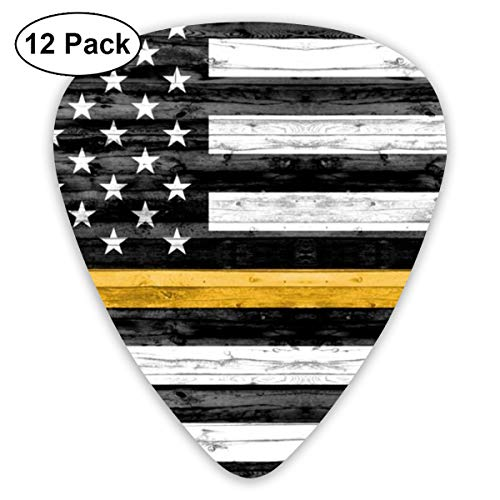 1 Yard Minky Panel - Black And Gold Flag C19BS Cropped C19BS Classic Celluloid Picks, 12-Pack, For Electric Guitar, Acoustic Guitar, Mandolin, And Bass ()