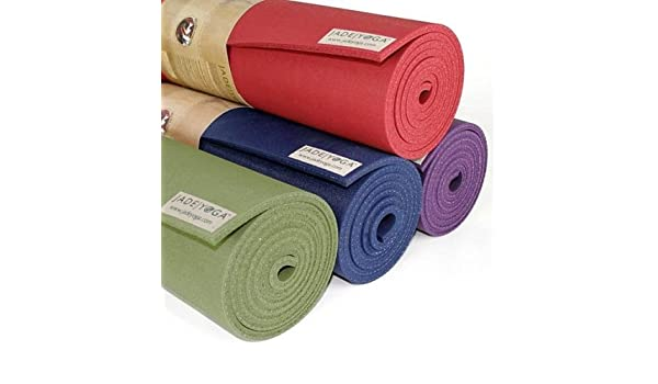 Estera de Yoga JadeYoga - Fusion púrpura: Amazon.es ...