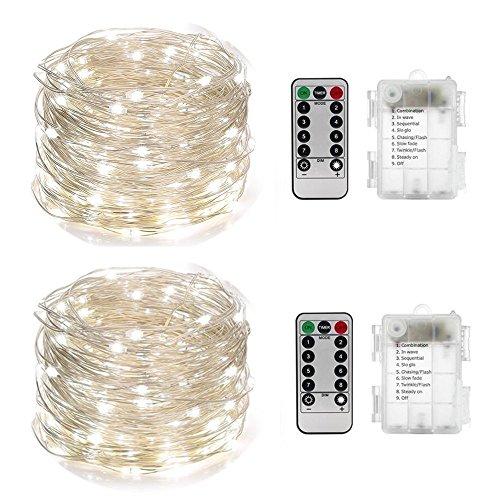 50 Led Solar Rope Lights White - 3
