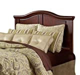 Fashion Bed Group Nelson King Size Headboard in Distressed Cherry Finish
