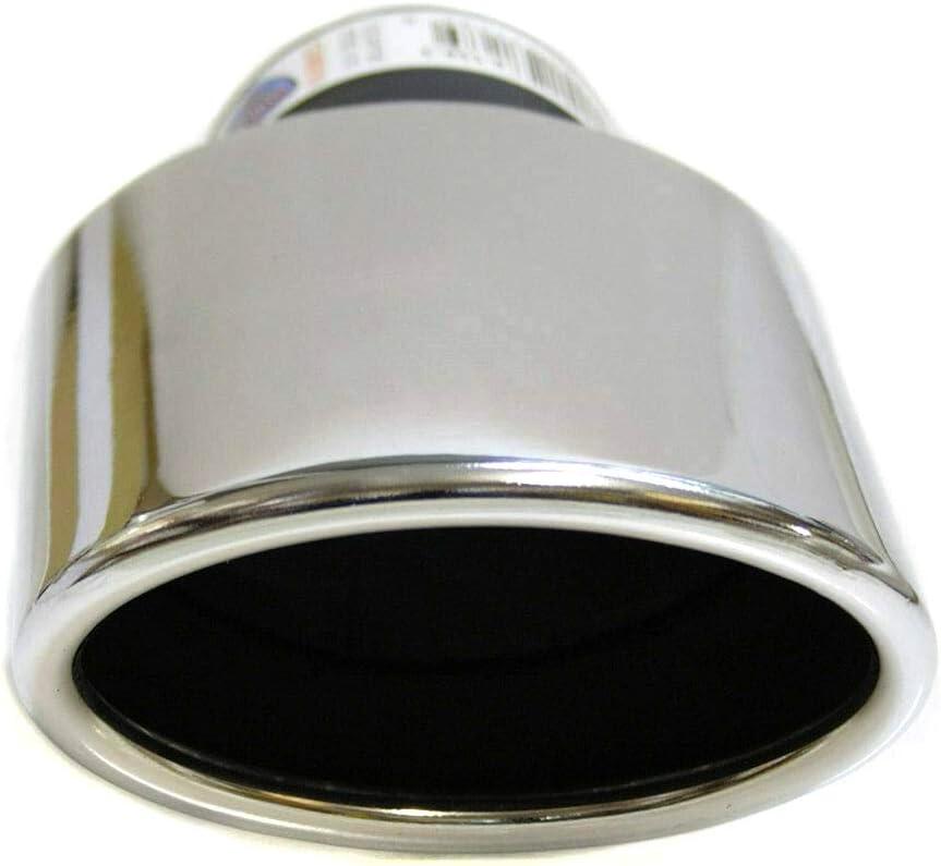 Boloromo 427A Auspuff Blende Endrohr Endrohrblende Edelstahl Auspuffblende Universal