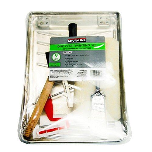Shur-Line 8500 One Coater Paint Kit, 9-Piece