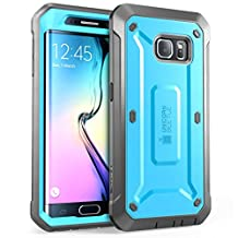 Galaxy S6 Edge Case, SUPCASE Full-body Rugged Holster Case with Built-in Screen Protector for Samsung Galaxy S6 Edge (2015 Release), Unicorn Beetle PRO Series - Retail Package