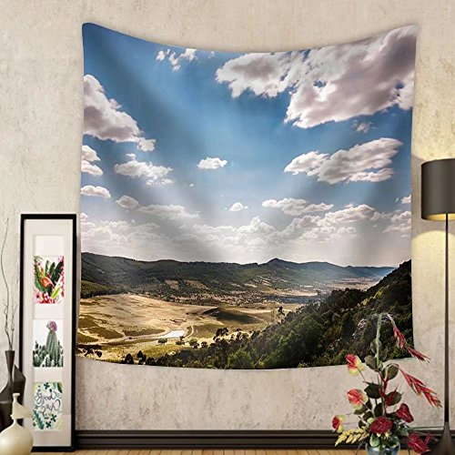 Niasjnfu Chen Custom tapestry Spain Landscapes - Fabric Wall Tapestry Home Decor by Niasjnfu Chen