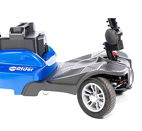 EV Rider - Mini Rider Compact Scooter - 4-Wheel - Metallic Red