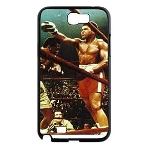 Muhammad Ali Design Cheap Custom Hard Case Cover for Samsung Galaxy Note 2 N7100, Muhammad Ali Galaxy Note 2 N7100 Case