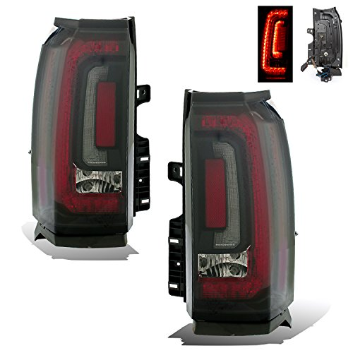 SPPC Smoke LED Tail lights Set For Chevy Suburban, Tahoe - Passenger and Driver Side