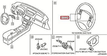 [SCHEMATICS_4US]  Amazon.com: Infiniti 25550-AC700, Cruise Control Switch: Automotive | Infiniti Cruise Control Diagram |  | Amazon.com