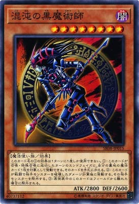 Yu-Gi-Oh / Dark Magician of Chaos (Common) / Structure Deck R: Lord of Magician (SR08-JP015) / A Japanese Single Individual Card