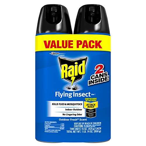 Flying Insect Killer Spray (Raid Flying Insect Killer Value Pack, 30 Ounce)