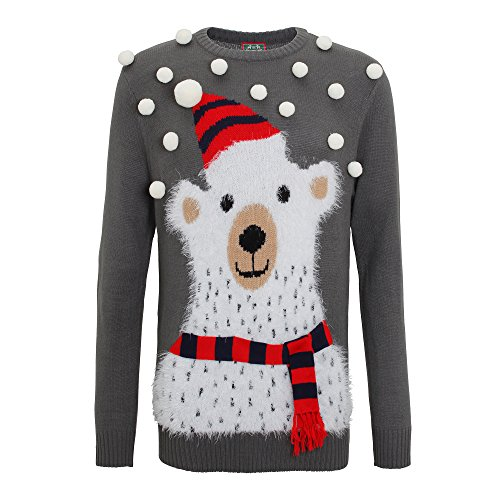 Polar Bear Christmas Jumper With