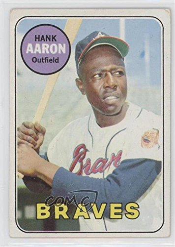 Hank Aaron Ungraded COMC Good to VG-EX (Baseball Card) 1969 Topps - [Base] #100