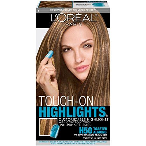 L'Oréal Paris Touch on Highlights Customizable Highlights, H50 Toasted Almond (Toasted Almond)